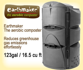 Earthmaker the king of composters for Soil king compost